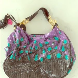 Betsy Johnson Sequin Bag